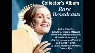 Joan Sutherland Rare Broadcasts - Mozart: Exsultate, jubilate: Alleluia (closing section)