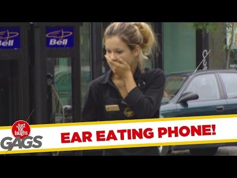 Ear Eating Phone!