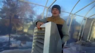 Тепловентилятор Для Теплицы 70 кВт. Обзор. VOLСANO.