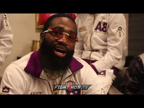 "ADRIEN BRONER TO PACQUIAO ""YOU'RE UNDERESTIMATING ME! I CAN'T WAIT TILL THE BELL RINGS"""