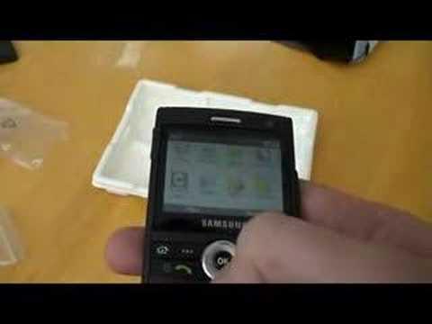 Samsung i600 OS