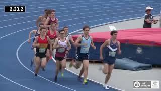 U20 Mens 1500m   Final   2018 Australian Junior Athletics Championships