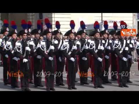 Festa della Repubblica a Torino, Inno di mameli in piazza Castello per alzabandiera