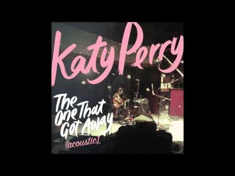 Katy Perry - The One That Got Away (Acoustic) Karaoke / Instrumental with lyrics