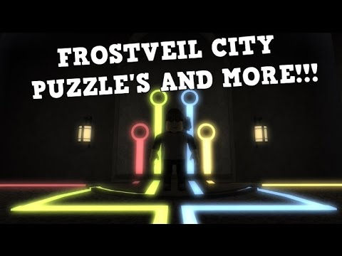 NEW FROSTVEIL CITY PUZZLE'S AND MORE!?! | Roblox Pokemon Brick Bronze