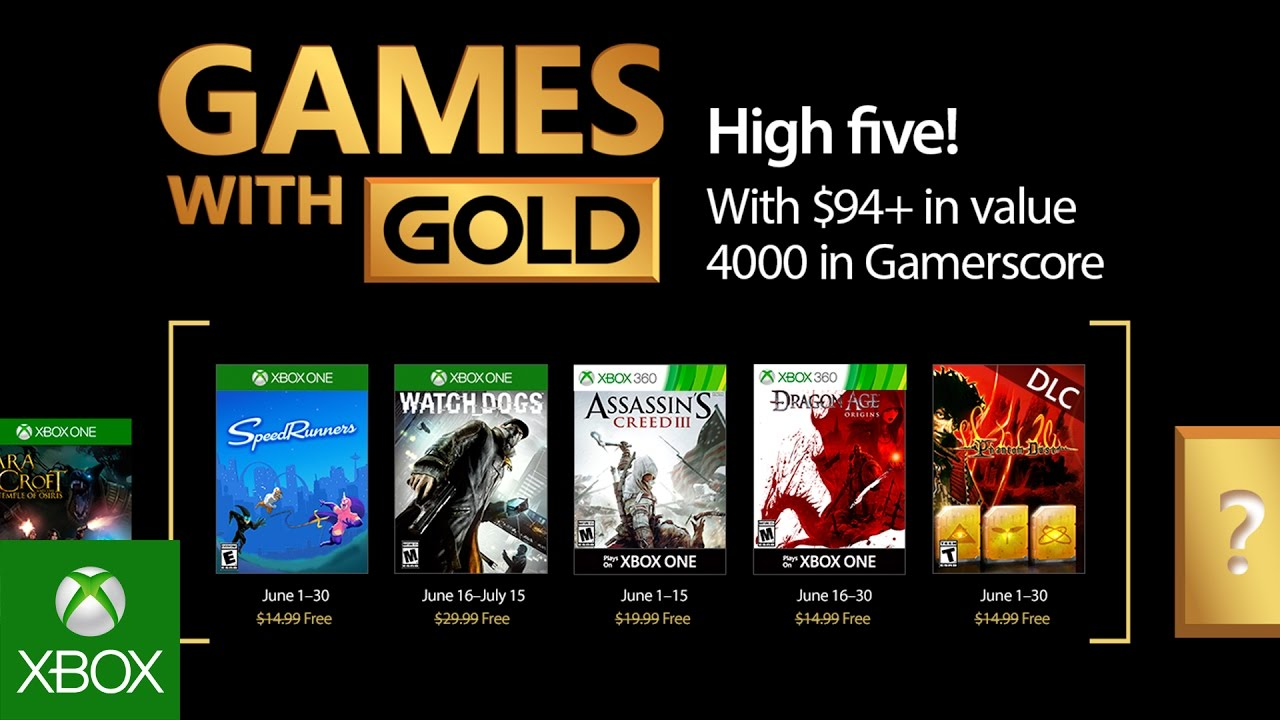Xbox June 2017 Games With Gold Youtube