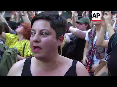Anger erupts in Spain over lesser sexual assault sentences