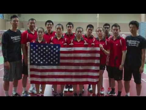 2015 Universiade Team USA Interview by Badminton Monthly