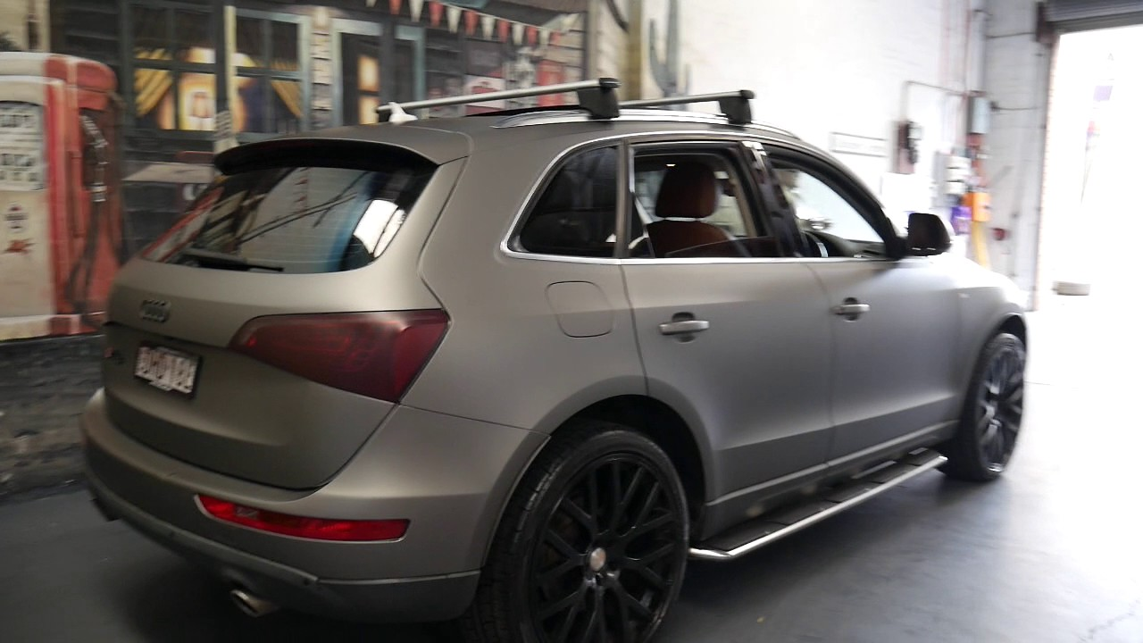 2016 Audi Q5 >> 2009 Audi Q5 3. TDi wrapped in grey; white underneath ...