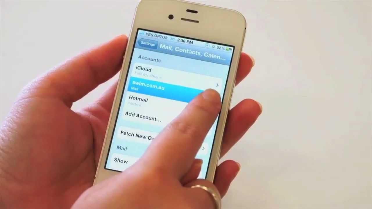 How To Set Email Client To Delete Messages Off The Server  Apple Iphone  (ios5)