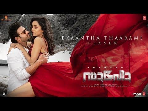Download Lagu  Saaho: Ekaantha Thaarame Teaser   Prabhas,Shraddha K   Guru R, Haricharan S,Shakthisree G,Vinayak S Mp3 Free