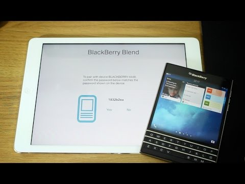 BlackBerry Blend overview - Control your BlackBerry from your PC, Mac or tablet