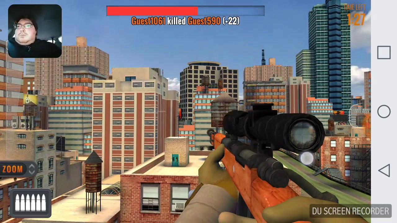PvP Sniper 3D Assassin