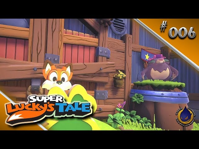 DIE MAULWURF-BANDE 🍀 Let's Play SUPER LUCKY'S TALE #006
