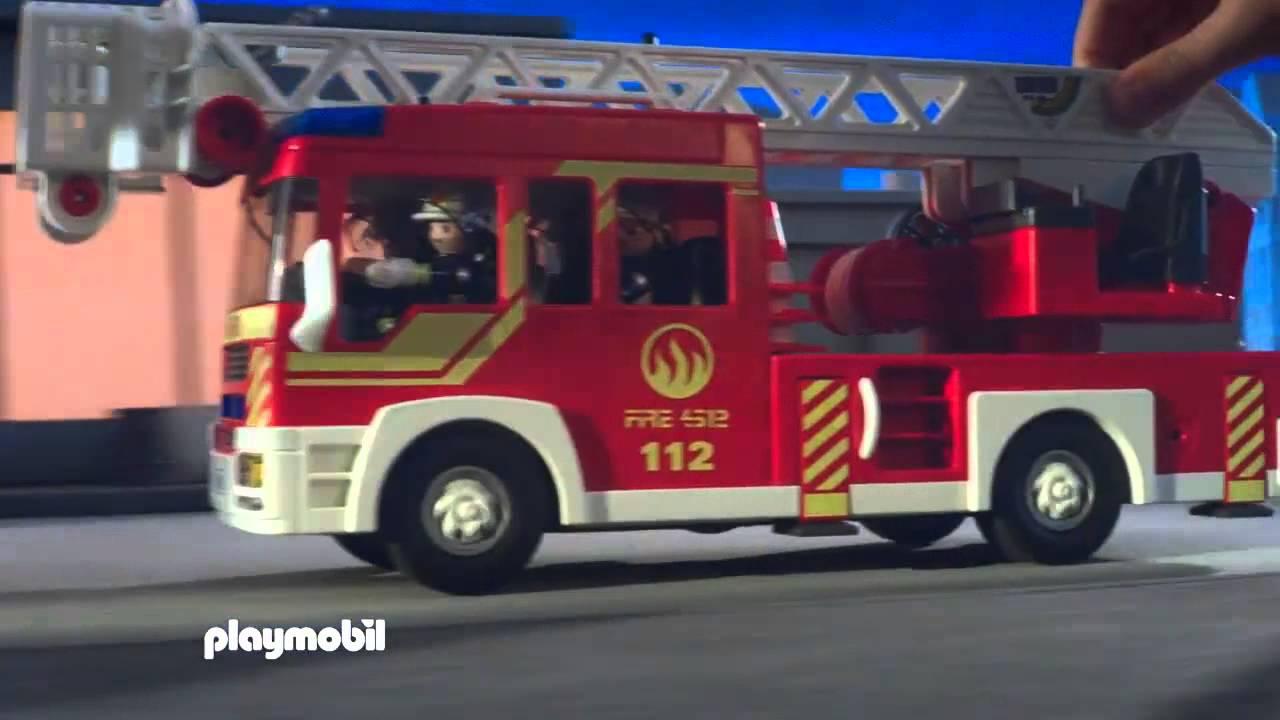 Feuerwehrstation Mit Alarm 5361 Feuerwehr Leiterfahrzeug 5362