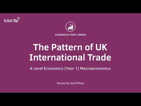 Pattern of UK Overseas Trade
