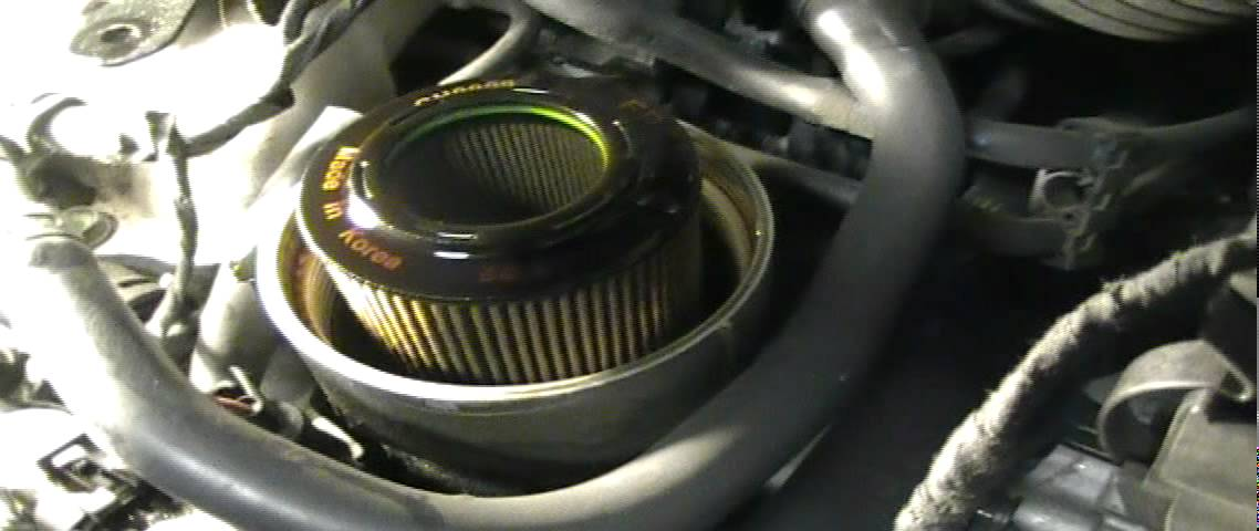 How to Change the Engine Oil on a 2009 Hyundai Santa Fe ...