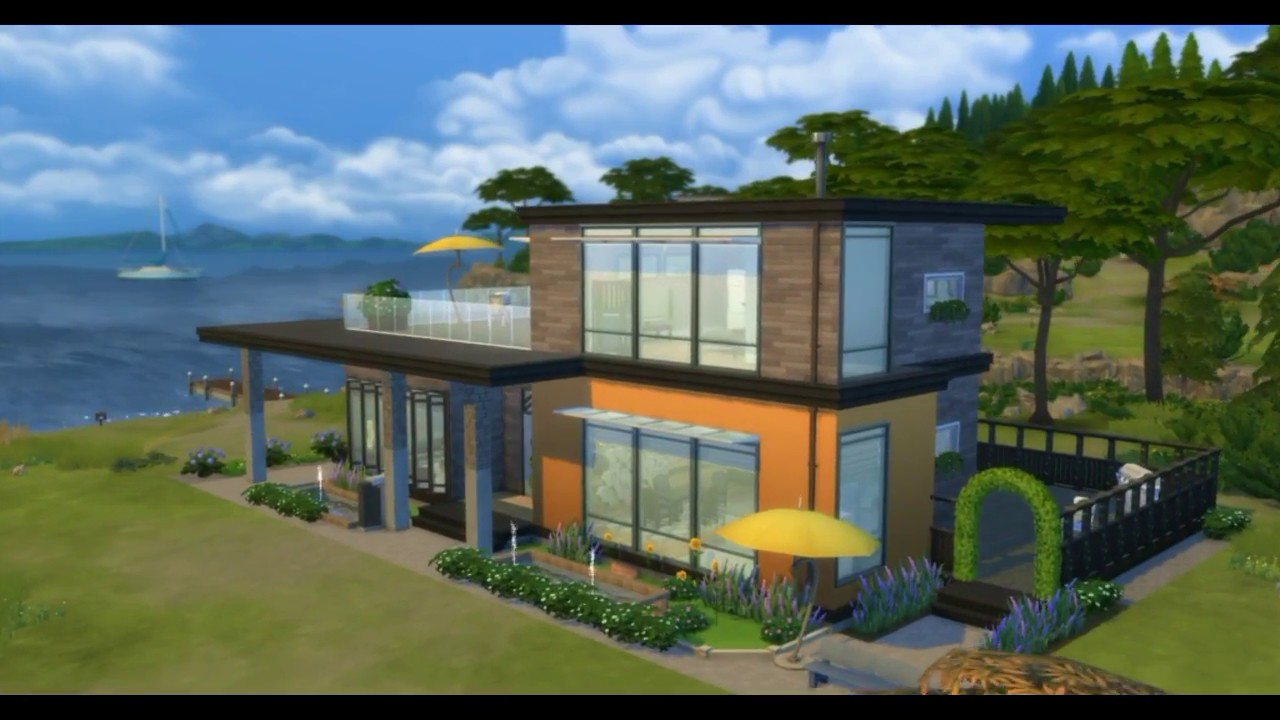 Best modern house plans and designs 2 level for Best house designs skyrim