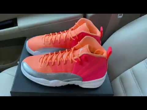 Air Jordan 12 Sunrise Hot Punch sneaker