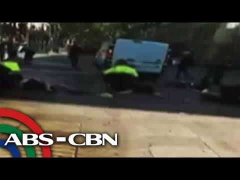 TV Patrol: 6 na Pinoy, sugatan sa atake sa Barcelona