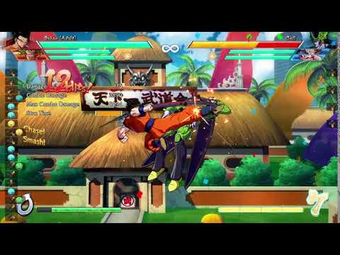 The Muzz reacts to DBFZ Adult Gohan combo