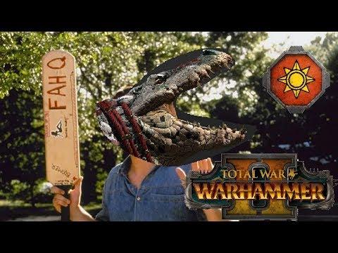 Lizardmen vs Dwarfs | PADDLE TIME - Total War Warhammer 2
