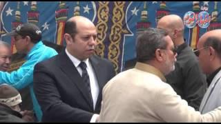 عادل المأمور وأحمد سليمان فى جنازة كابتن نبيل نصير