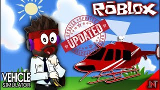 ROBLOX indonesia #51 Vehicle Simulator | BELI Helicopter UPDATE TERBARU