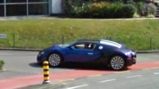 Very Expensive Exotic Cars on Google Maps