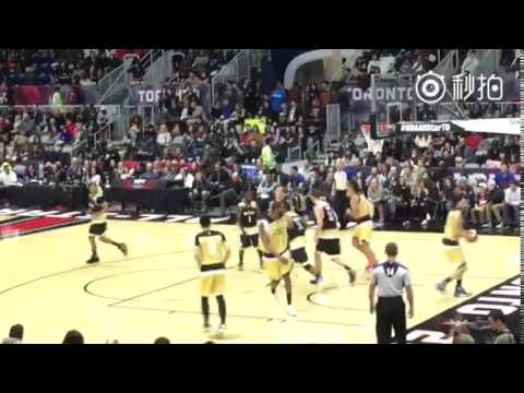 [FANCAM] 160213 Kris WuYifan NBA All-Star Celebrity Game