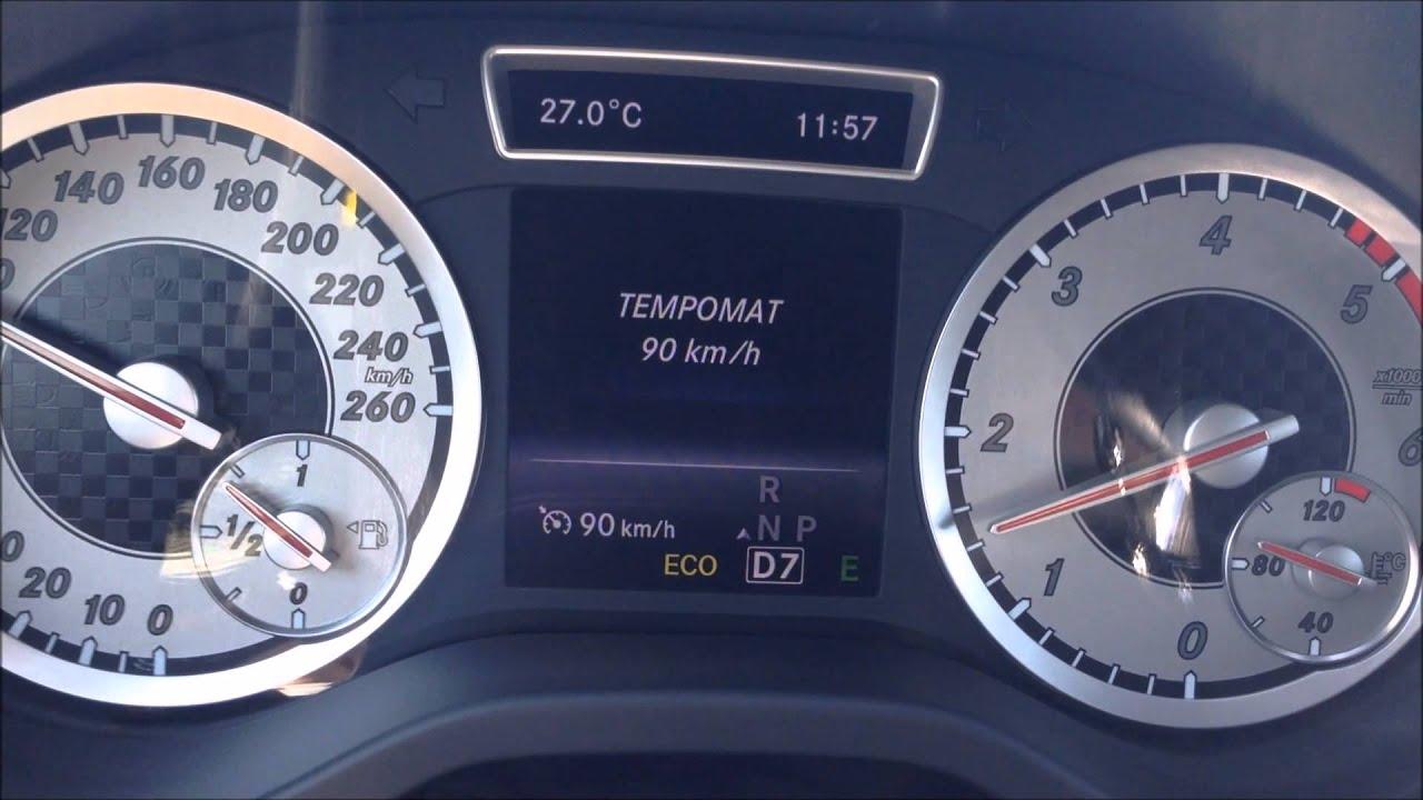 mercedes a180 cdi 7g-dct yakıt tüketimi / fuel consumption - youtube