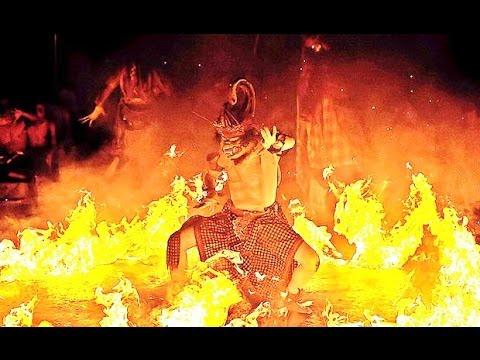 Tari KECAK FIRE DANCE - Tanah Lot Bali Island - Balinese Classical Dance [HD]