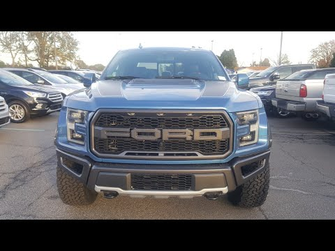 2019 Ford F150 Raptor - Ford Performance Blue - First Look!