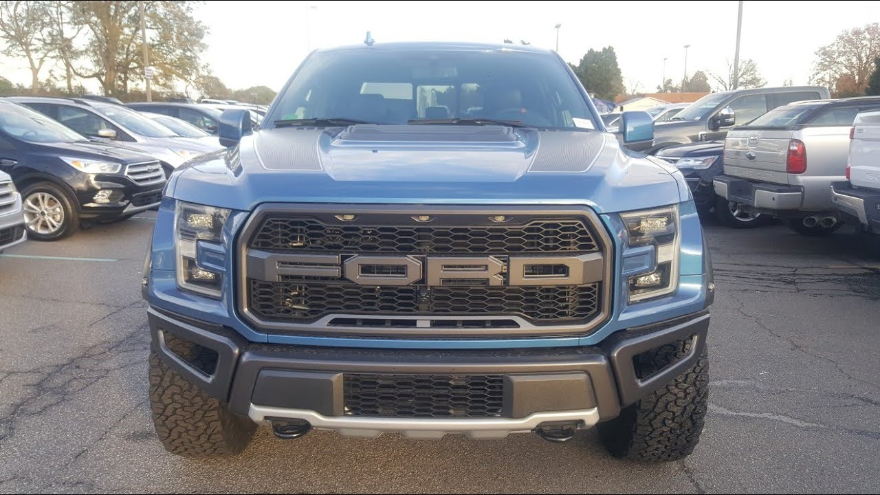 2019 Ford F 150 Raptor Performance Blue