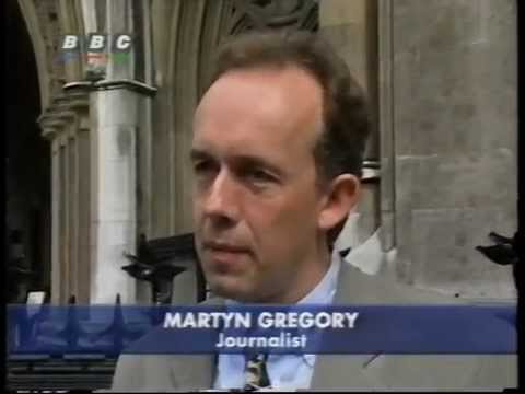 Martyn Gregory Wins Libel Victory Against British Government 28/7/95