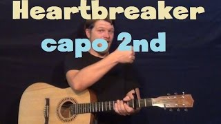 Heartbreaker (Justin Bieber) Easy Strum Guitar Lesson How to Play Tutorial Mp3