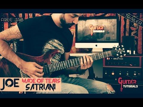 Made of Tears (Joe Satriani) - Guitar Tutorial with Nicola Ancillotti