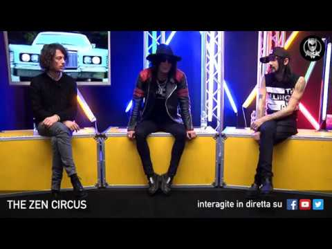 THE ZEN CIRCUS 💥 LIVE SU ROCK TV 🤘🏻📲