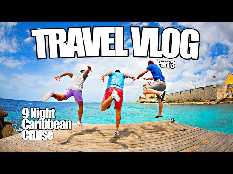 Curacao - TRAVEL VLOG - Caribbean Cruise Vacation Video Part 3