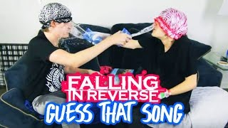 Falling In Reverse GUESS THAT SONG CHALLENGE