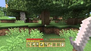 Minecraft deluxe island part 9 random adventure for wood