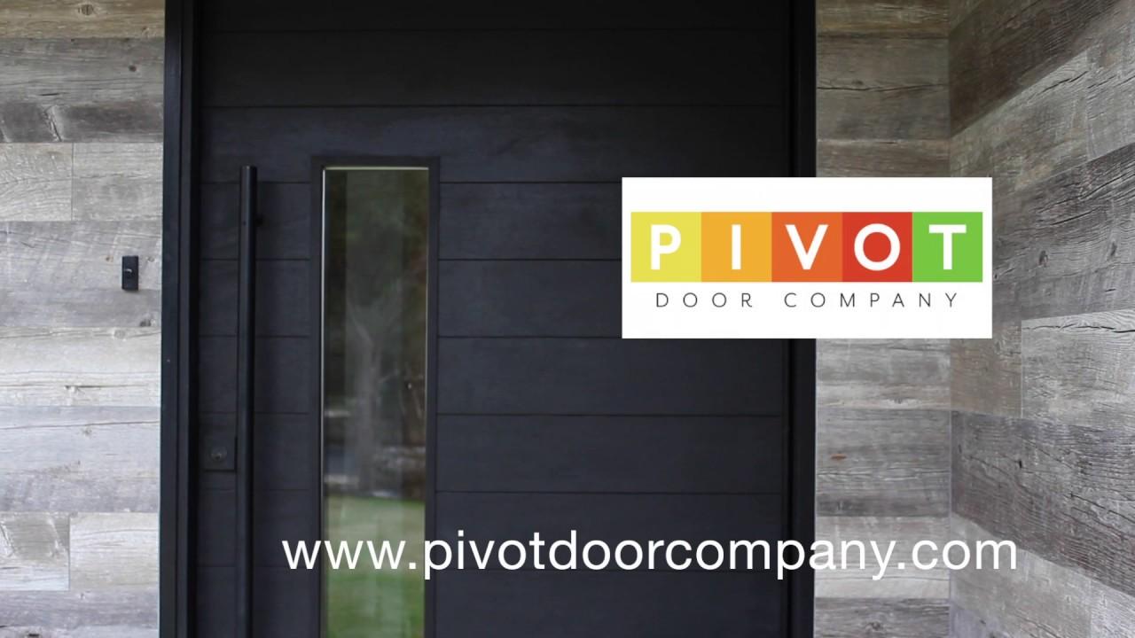 Modern Pivot Door by Pivot Door Company - YouTube