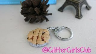 How to Make a Scented Apple Pie Polymer Clay Keychain