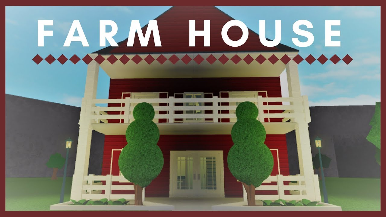 Roblox Welcome To Bloxburg Small Farm House Youtube