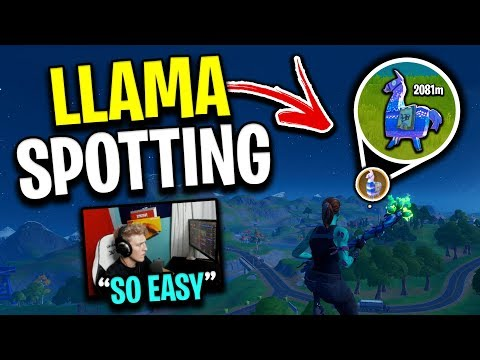 How To Find LLAMAS Like Tfue! (NEW INSANE OP TRICK)