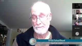 SVSU School Board // 4-22-20