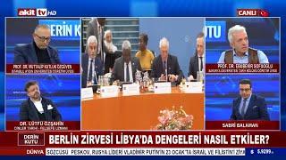 Derin Kutu - Berlin Zirvesi Libyadaki Dengeleri N