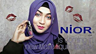 Nior Launching New Matte Lipstick in US Trade Show | Pari ZaaD