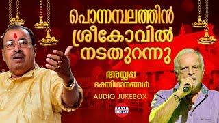 Ponnambalathin Sreekovil Nadathurannu | Ayyappa Devotional Songs | Sabarimala | Hindu Devotional