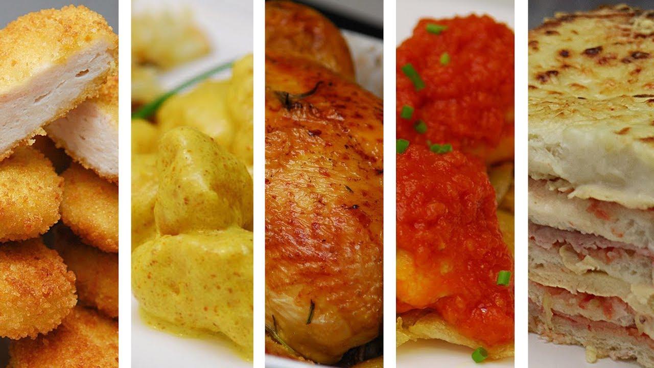 Top 5 recetas f ciles con pollo haz comidas ricas en - Comidas con pollo faciles ...